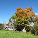 The barn in the Fall.